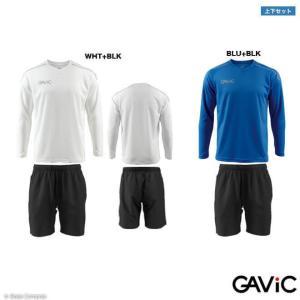商品番号 ga-8089--4249 ガビック/gavic ロングプラクティスシャツ上下セット  素...