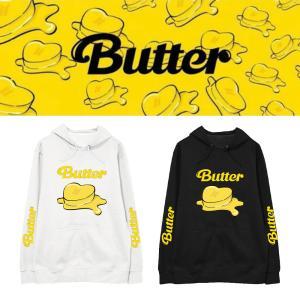 BTS(防弾少年団)Butter グッズ 服 スウェット コートトレーナー 打歌服 応援服 グッズ ...
