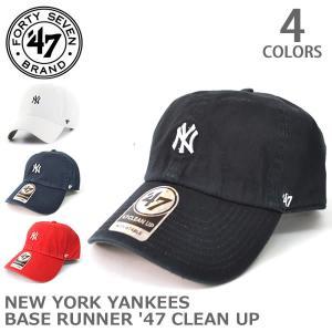 47BRAND/47ブランド B-ABATE17GWS NEW YORK YANKEES BASE RUNNER '47 CLEAN UP アジャスタ|bobsstore