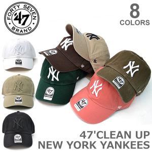 47BRAND/47ブランド CLEAN UP B-RGW17GWS NEW YORK YANKEES クリーンナップ ウォッシュ アジャスタブル カジュアル【ネコポスのみ送料無料】|bobsstore