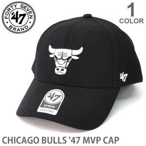 47BRAND/47ブランド K-MVP03WBV キャップ シカゴブルズ 帽子 カジュアル メンズ レディース ブルズ BULLS ブラック 47brand マジックテープ|bobsstore
