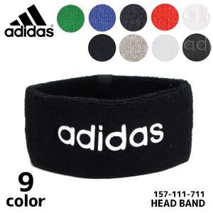 アディダス adidas 157-111 711 ヘッドバンド ヘアバンド パイル ロゴ  スポーツ フェス ダンス メール便発送 送料無料|bobsstore