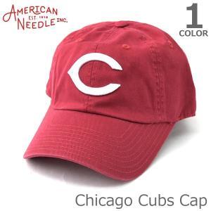 AMERICAN NEEDLE【アメリカンニードル】CHICAGO CUBS キャップ 人気 アメカジ 帽子 メンズ レディース シカゴ カブス レッ|bobsstore