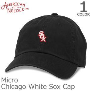 AMERICAN NEEDLE【アメリカンニードル】MICRO CHICAGO WHITE SOX キャップ 人気 アメカジ 帽子 メンズ レディース|bobsstore