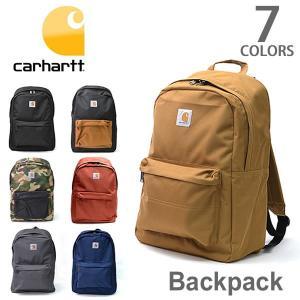 カーハート/carhartt 100301 BACK PACK バックパック リュック ワークバッグ 通勤 通学 メンズ レディース ブラック ブラウン