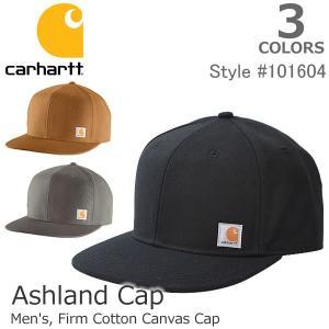 カーハート【carhartt】101604 スナップバックキャップ カジュアル メンズ レディース ブラウン ブラック 帽子|bobsstore