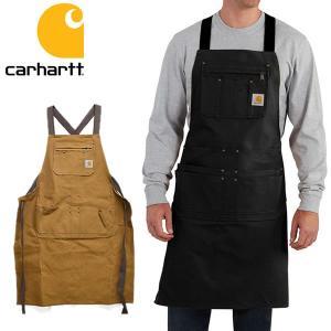 カーハート/carhartt 102483 Firm Hand Duck Apron ダックエプロン BROWN エプロン ポケット 大工 作業着 D|bobsstore