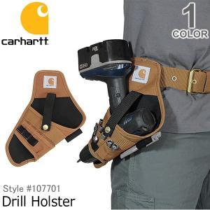 カーハート/carhartt 107701 Legacy Drill Holster BRN ベルトカスタムツール 電気ドリル ポケット 大工 作業着 DIY ブラウン 工具入れ bobsstore