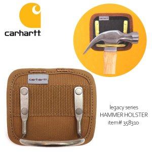 カーハート【carhartt】358310 Legacy Hammer Holster BRN ベルトカスタムツール ハンマー Hammer ポケット 大工 DIY ブラウン|bobsstore