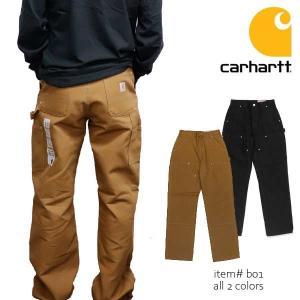 カーハート carhartt B01 メンズ ボトムス パンツ コットン Double Front Work Loose Fit Pant ダブルニーダックペインターパンツ|bobsstore