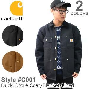 カーハート carhartt C001 メンズ アウター ジャケット コート Duck Chore Coat/Blanket Lined|bobsstore