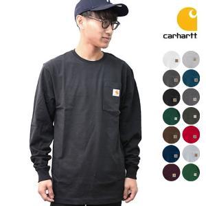 カーハート carhartt K126 メンズ トップス ロンT Long Sleeve Workwear Pocket T-Shirt 【メール便可|bobsstore