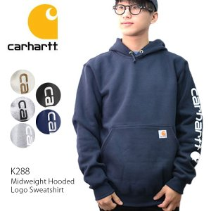 カーハート carhartt K288 メンズ トップス パーカー スウェット Midweight Hooded Logo Sweatshirt|bobsstore