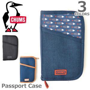 チャムス【CHUMS】Passport Case 54154 / 54155 / 54156 パスポート ケース 旅行 ポーチ ケース バック シンプル メンズ レディース 3Color|bobsstore