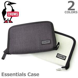 チャムス【CHUMS】Essentials Case 54233 / 54254 ケース カードケース コインポーチ 旅行 ケース バック シンプル メンズ レディース 2Color|bobsstore