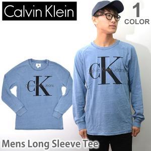 カルバン・クライン ジーンズ/Calvin klein Jeans メンズ ロングTシャツ 長袖 Tシャツ トップス 41F5434 bobsstore
