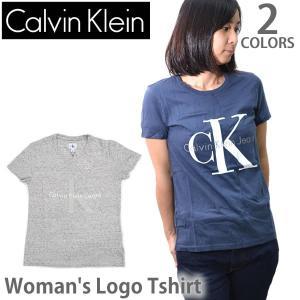 カルバン・クライン ジーンズ/Calvin klein Jeans レディース メンズ ロゴ Tシャツ 半袖 42MK976 トップス 人気 Logo|bobsstore