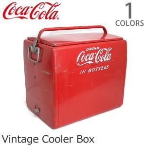 コカ・コーラ【Coca Cola】クーラーボックス レトロ ヴィンテージ レッド アメリカン雑貨 ドリンク USA 収納 おもちゃ箱 インテリア ガー|bobsstore