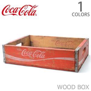 コカ・コーラ【Coca Cola】ウッドボックス ヴィンテージ 木箱 アメリカン雑貨 ドリンク USA 収納 おもちゃ箱 インテリア ガーデニング U|bobsstore