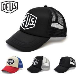 デウスエクスマキナ DEUS EX MACHINA メッシュ キャップ ストリート 帽子  DM 07875 BAYLANDS TRUCKER|bobsstore