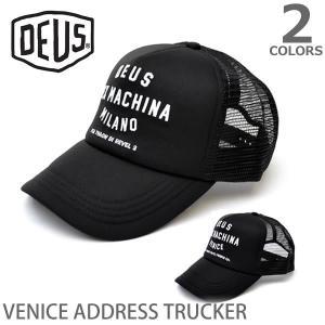 デウスエクスマキナ DEUS EX MACHINA メッシュ キャップ ストリート 帽子 メンズ  47620 VENICE ADDRESS TRUC bobsstore