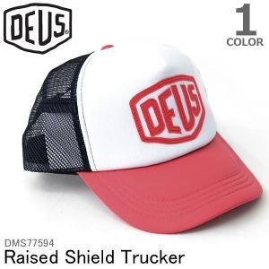 デウスエクスマキナ DEUS EX MACHINA DMS67199 Raised Shield Trulcer Cap キャップ ストリート 帽子 bobsstore