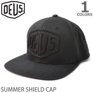 デウス【DEUS】DMS57535 SUMMER SHIELD CAP キャップ スケボー スケート ボード ストリート 帽子 メンズ レディース ブ bobsstore