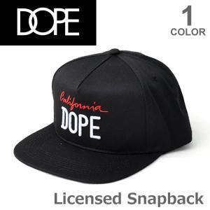 ドープ/DOPE Licensed Snapback Cap キャップ 帽子 D0816-H121 メンズ レディース ユニセックス ブラック ヒップホップ CAP【送料無料】|bobsstore