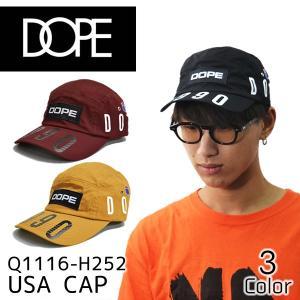ドープ【DOPE】 CAP Q1116-H252 キャップ 帽子 メンズ レディース ストラップバック 調整可能  BLACK WHEAT BURGUNDY【メール便発送のみ送料無料】|bobsstore