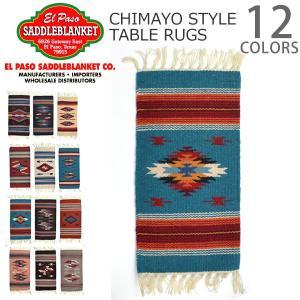 エルパソサドルブランケット【el paso saddleblanket】Chimayo Style Mats ウール マット インテリア ネイティブ柄 bobsstore