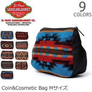 エルパソサドルブランケット【el paso saddleblanket】Coin&Cosmetic Bag M ポーチ 小物入れ 小銭入れ コスメ 旅|bobsstore