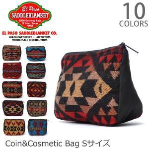 エルパソサドルブランケット【el paso saddleblanket】Coin&Cosmetic Bag S ポーチ 小物入れ 小銭入れ コスメ 旅|bobsstore