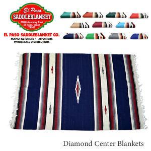 エルパソサドルブランケット【el paso saddleblanket】Diamond Center Blankets ブランケット ラグ インテリア