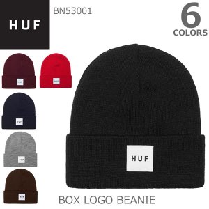ハフ【HUF】BN53001 BOX LOGO BEANIE ニットキャップ|bobsstore