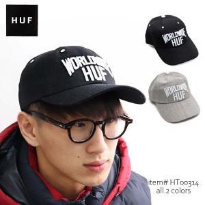 ハフ【HUF】 MANHATTAN CV HAT キャップ CAP 帽子 メンズ レディース サイズ調整可能 ストラップバック【ネコポス発送のみ送料無料】|bobsstore