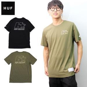 ハフ【HUF】 HUF X STARTER LOCK UP S/S TEE TS00833 メンズ Tシャツ 半袖 トップス  Starterコラボ  ブラック ホワイト【ネコポス発送のみ送料無料】|bobsstore
