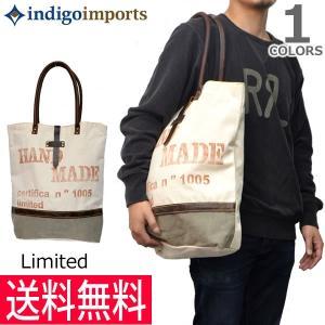 インディゴインポート【indigo imports】Reclaimed Bag ヴィンテージ キャンバス バック トート ユニセックス ショルダーバッ|bobsstore