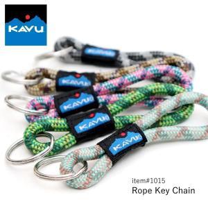 カブー/KAVU 1015 Rope Key Chain ロープキーチェーン キーホルダー 小銭入れ 鍵 キーケース クライミングテープ ウェイビングベルト|bobsstore