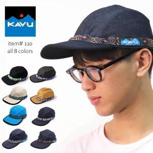 カブー/KAVU 110 Strapcap ストラップキャップ 帽子 メンズ レディース CAP キャンプ アウトドア 山 川 海 コットン bobsstore