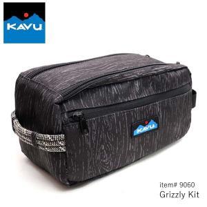カブー/KAVU 9060 Grizzly Kit グリズリー アクセサリーポーチ 小物入れ 大きめ ポーチ 旅行|bobsstore