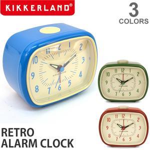 キッカーランド/KIKKERLAND RETORO ALARM CLOCK AC08 インテリア デザイン雑貨 プレゼント ギフト 時計 目覚まし アラーム|bobsstore