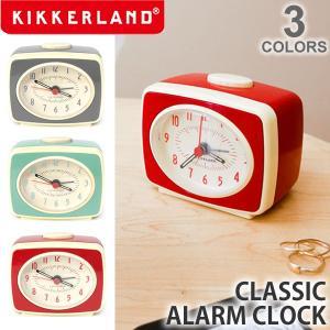キッカーランド/KIKKERLAND CLASSIC ALARM CLOCK AC14 インテリア デザイン雑貨 プレゼント ギフト 時計 目覚まし アラーム|bobsstore