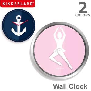 キッカーランド【KIKKERLAND】Wall Clock ウォールクロック バレリーナ8 アンカー8 CL38 CL53 時計 壁掛け時計 デザイン|bobsstore