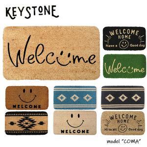 キーストーン【KEY STONE】コイヤーマット 玄関マット COMA MAT ナチュラル カフェ風 おしゃれ 7Color アンソロポロジー風 bobsstore
