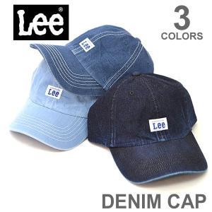 リー/Lee 167-176002 CAP キャップ メンズ レディース ストリート 帽子 デニム ブリムキャップ スポーツ フェス ダンス  アジャ|bobsstore