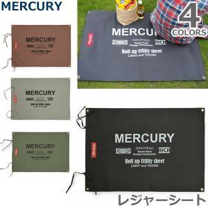マーキュリー/MERCURY レジャーシート 肩掛けロープ付き MECALE アメリカン雑貨 シート アウトドア キャンプ 遠足 海 ピクニック 持ち|bobsstore