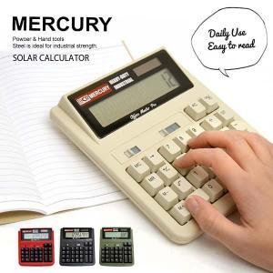 マーキュリー【MERCURY】ソーラーカリキュレーター MESOCA (MESACO) 電卓 アメリ...