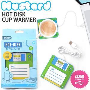 マスタード【Mustard】Hot Disk M11016A カップウォーマー ホットドリンク HOT DRINK USB 50℃の温飲料を保持 おも|bobsstore