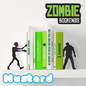 マスタード【Mustard】ZOMBIE BOOKENDS ゾンビ ブックエンド M16022 本立て おもしろ雑貨 おしゃれ 雑貨|bobsstore