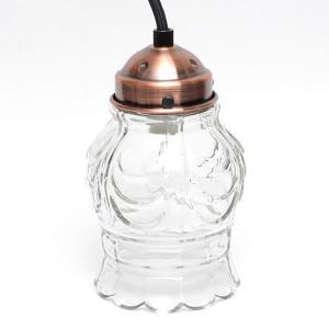 ナチュラルスタイル【natural style】ガラスハンキングランプ 40W ライト ペンダントライト 電気 クリア|bobsstore